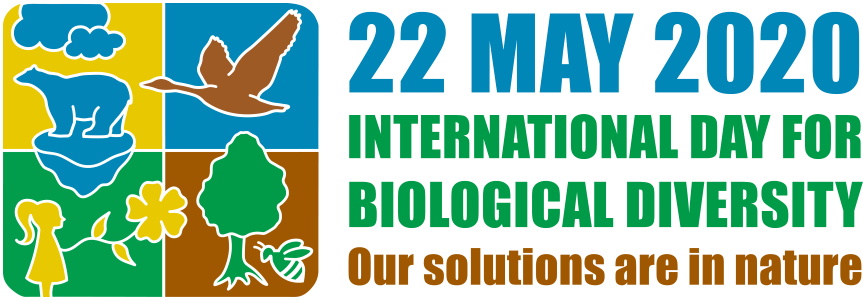 Figure 1. Logo of the International Day for Biological Diversity 2020.